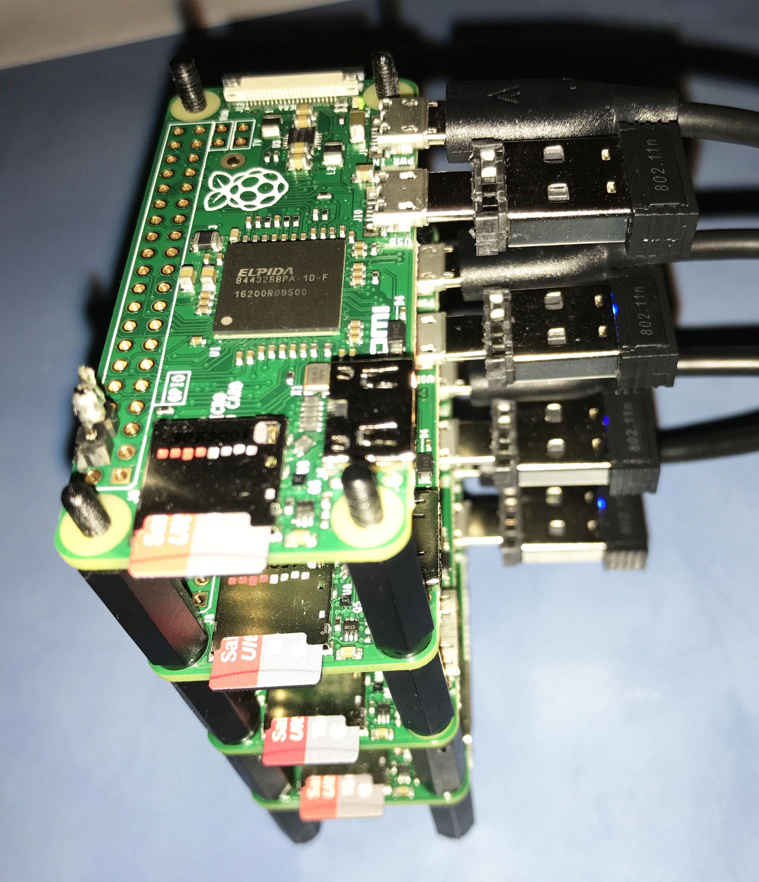 Working on Raspberry PI Zero Cluster   Weblog for Asbjorn