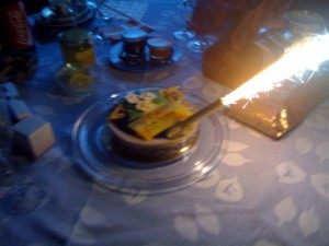 Birthday Cake (1 candle)